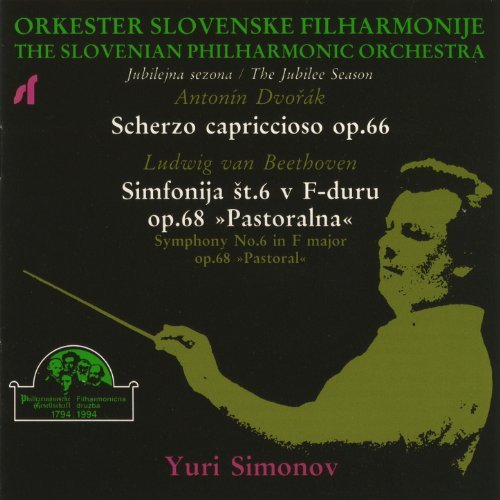 Dvorak and Beethoven, Russian Music Society presents: Yuri Simonov, The Slovenian Philharmonic Orchestra