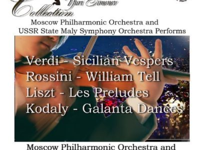 Verdi: Sicilian Vespers – Rossini: William Tell – Liszt: Les Preludes – Kodaly: Galanta Dances